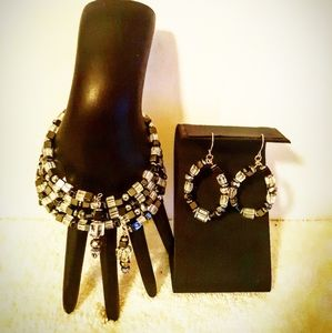 *NEW* BRACELET AND EARRINGS SET